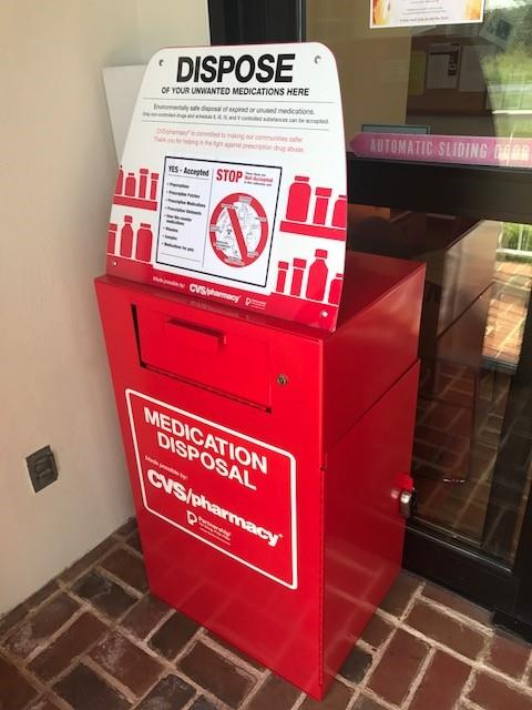 A Medication Drop Box is now available at the Township Building.
